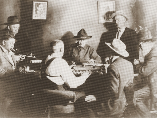 card games in Chicago lont time ago